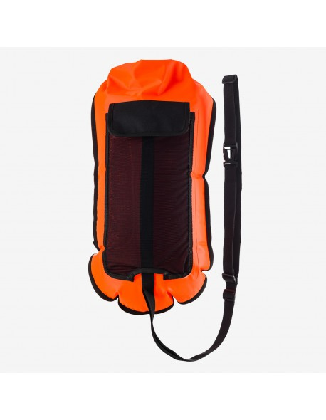 Orca Safety Buoy with Hydration Bladder Pocket