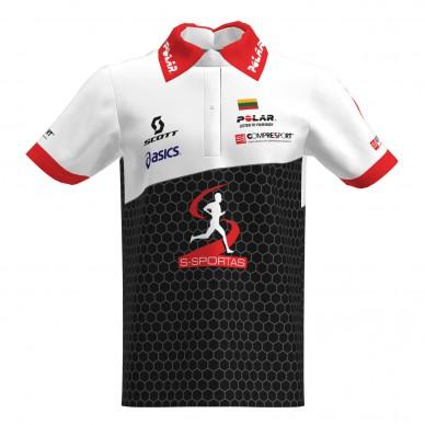 Polo marškinėliai pagal individualų dizainą (pavyzdys)