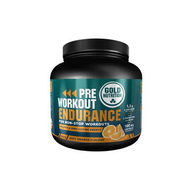 Gold Nutrition Pre Workout Endurance 300g
