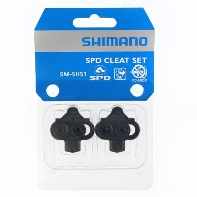 SHIMANO plokštelės pedalams SPD SM-SH51 PD-ATB