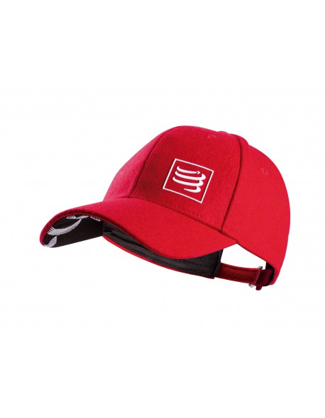 Compressport Wool Cap Red