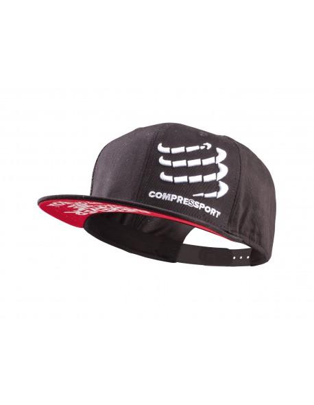 Compressport Flat Cap black