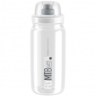 ELITE gertuvė Fly MTB Clear Grey logo 550ml
