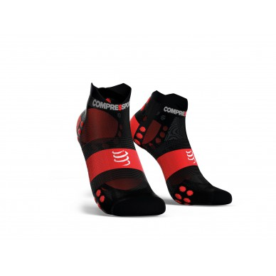 COMPRESSPORT kojinės PRO Racing V3.0 Run Ultra Light Low