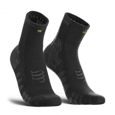 COMPRESSPORT kojinės PRO Racing V3.0 High BLACK EDITION 10