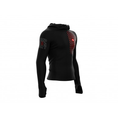 COMPRESSPORT viršus 3D Thermo Ultra Light Racing Hoodie