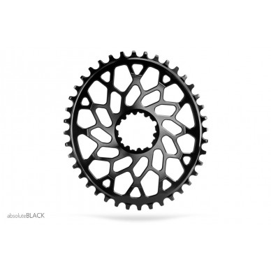 ABSOLUTE BLACK dantratis Oval Sram CX 36T