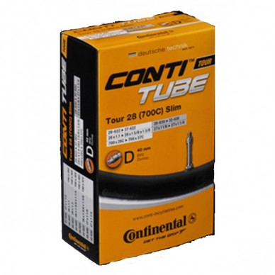 CONTINENTAL kamera Race 28 Valve Presta 80mm 18/25-622/63