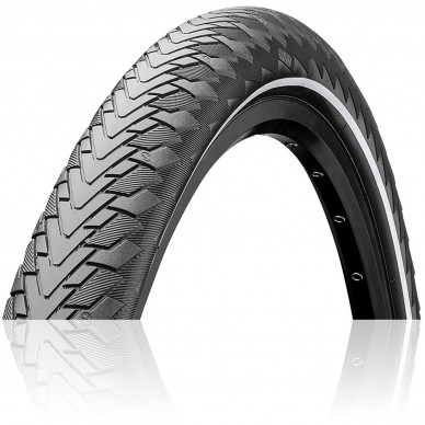 CONTINENTAL padanga Contact Cruiser 28x2.0 Grey Reflex 930g