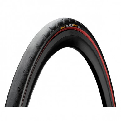 CONTINENTAL padanga Ultra Sport II 25-622 Black/Red Wire