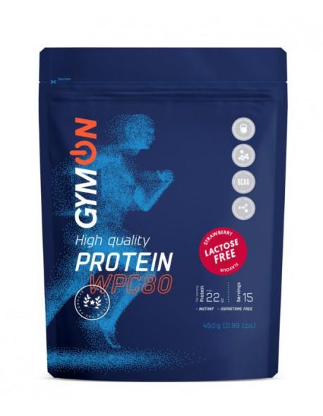 GymOn Pure Protein braškių be laktozės 450g