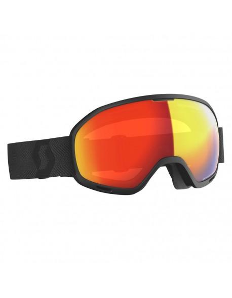 SCOTT akiniai Unlimited II OTG LS black/light sensitive red chrome