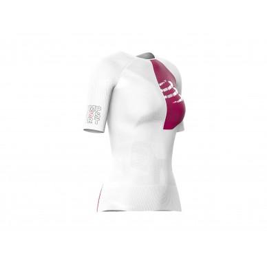 COMPRESSPORT marškinėliai Triathlon Postural Aero SS W
