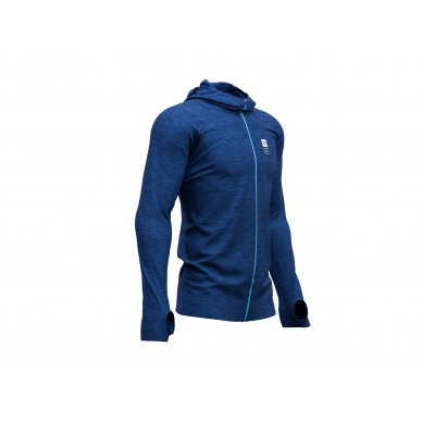COMPRESSPORT 3D Thermo Seamless Hoodie Mont Blanc M