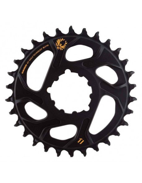 SRAM CHAINRING X-SYNC EAGLE 30T DM 3mm Offset, Boost GOLD