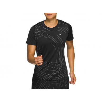 Asics T-shirt  Night Track SS Top